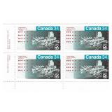 Canada Block of 34 Cent Unused Stamps
