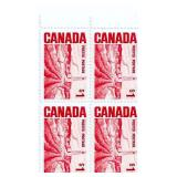 Canada Block Of 1 Dollar Unused Stamps