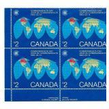 Rare Canada $2 Stamp Block