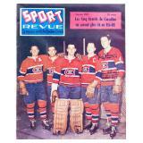 Jean Beliveau Autographed Sports Revue Magazine