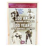 Jean Beliveau Autographed 100 Years Of The