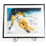 """Steve Podborski Autographed 12""""x18"""" World"""