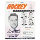 October 1955 Hockey Pictorial 1st Issue