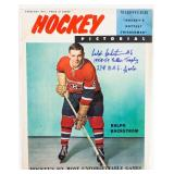 February 1961 Hockey Pictorial Autographed By