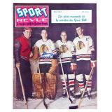 Sport Revue Magazine Autographed By Glenn Hull