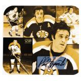 Large Autographed Phil Esposito Hockey Card