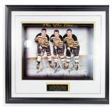 """The Uke Line"" Autographed & Framed Photograph"