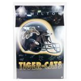 Hamilton Tiger-Cats Autographed Poster
