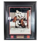 Glenn Hall Autographed & Framed Photograph