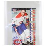 Jean Béliveau Autographed Montreal Canadians