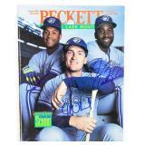 Olerud, Carter, Alomar Signed Beckett Mag.