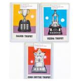 3 Cintage Sports Trophy Cards, Includes Calder
