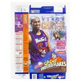 Autographed Vince Carter Cocoa Frosted Flakes