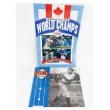 1992 Baseball Greats Calendar & Toronto Blue Jays