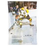 1987 Hockey Legends Calendar! Vintage Piece with