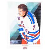 "Phil Esposito ""In the Slot"" Hockey Legends Poster"