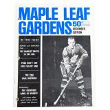 Vintage Maple Leafs Gardens December Edition