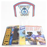 4 Toronto Blue Jays Magazines & World Series 1992