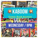 Check out The Kaboom Collector Comics Auction!
