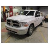 2011 DODGE RAM SLT 1500 QUAD CAB 4X 1D7RV1GT8BS633