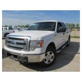 2013 FORD F150 XLT SUPERCREW 4X4 1FTFW1ET1DKD00285