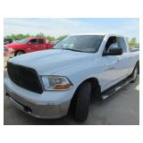 2011 DODGE RAM SLT 1500 QUAD CAB 4X 1D7RV1GP8BS675