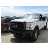2011 FORD F250 XL CREW CAB 4X4 DIE 1FT7W2BT1BEC830