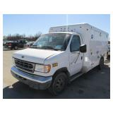 2001 FORD E350 AMBULANCE 1FDWE35F01HB53941