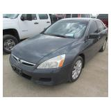 2007 HONDA ACCORD 1HGCM66337A801968
