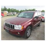 2007 JEEP GRAND CHEROKEE LIMITED 1J8HR58M17C667061