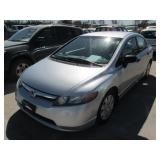 2007 HONDA CIVIC 2HGFA16397H033245