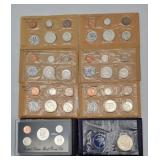 AMERICAN SILVER COIN SETS