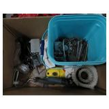 Box of trowels etc