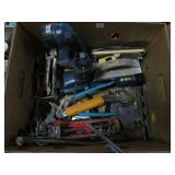 Box of tools etc