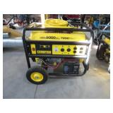 Champion 9000 w peak generator w/ electric start
