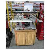 Ridgid table saw w/ stand