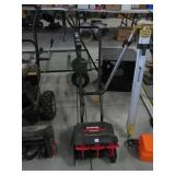 Yard Machines Snow Fox electric snow thrower