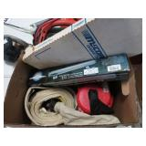 Tow strap, blower etc