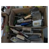 2 Boxes fo trowels