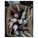 Box of caulking