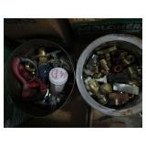 2 Tins of fittings
