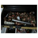 Tool box of copper fittings