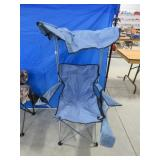 Folding chair w/ canopy and bag