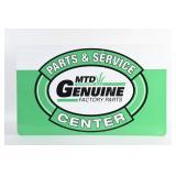 MTD PARTS & SERVICE CENTRE S/S ALUMINUM SIGN