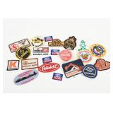 GROUPING OF COLLECTIBLE CLOTH BADGES/ NOS