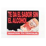 MILLER TEDAEL SABOR SIN EL ALCOHOL S/S ALUM. SIGN