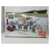 Gibson Cuisine Select Landon 7-Piece Stainless Ste