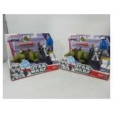 Lot of 2 Star Wars Galactic Heroes Sandtrooper &
