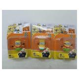 Lot of 3 Despicable Me 3 Figuers