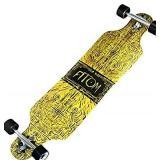 Atom Longboards Drop Through Longboard Skateboard-